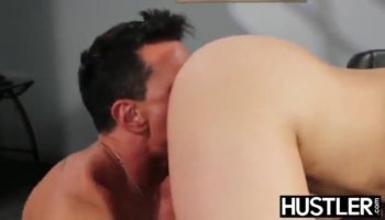 Two redhead women shared a hard schlong and fucked on turns